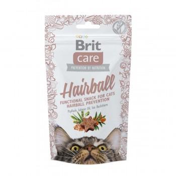 Brit / Брит Care лакомство д/кошек Hairball для вывода комков шерсти, 50 гр