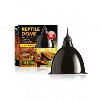 Exo Terra / Экзо Терра Светильник Reptile Dome с отражателем для ламп до 160 Вт  ?21xH17.8 см. PT2349