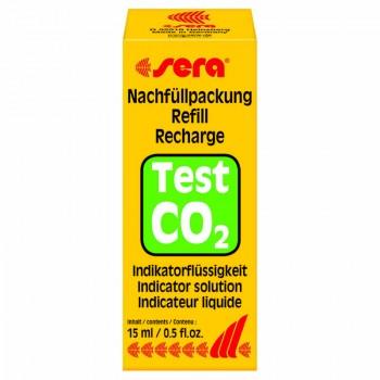 Sera / Сера Индикаторная жидкость для теста СО2 углекислый газ 15мл