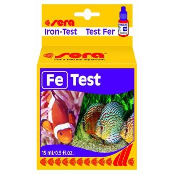 Sera / Сера Тест для воды Fe-Test железо 15мл
