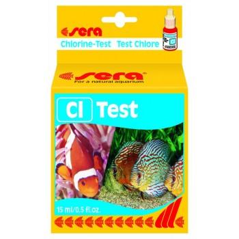 Sera / Сера Тест для воды Cl-Test хлор 15мл