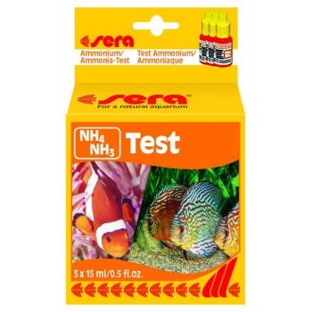 Sera / Сера Тест для воды NH4/NH3-Test аммиак/аммоний 15мл