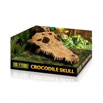 Exo Terra / Экзо Терра Убежище-декор Череп крокодила 23х12х7.5 см. PT2856