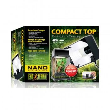 Exo Terra / Экзо Терра Cветильник Compact Top для террариумов Арт: РТ2599, PT2601 20x9x15 см. PT2224