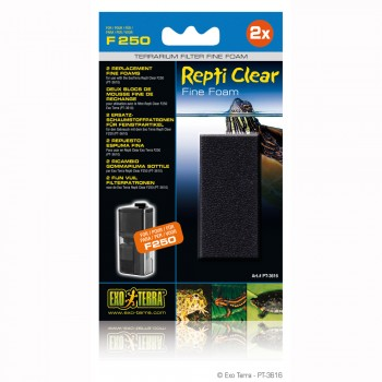 Exo Terra / Экзо Терра Губка фильтровальная мелкопористая для фильтров Repti Clear F 250 арт: РТ3610 PT3616(H236164)