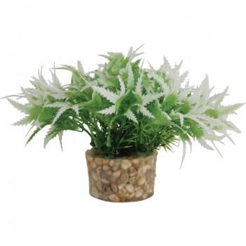 Zolux / Золюкс Растение пластиковое в грунте 5x5x13 см. микс /S3/