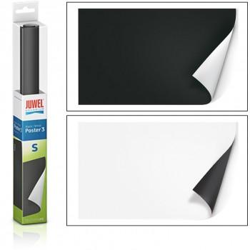 Juwel / Ювель Фон-пленка Poster3 черный/белый 150х60 см