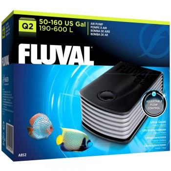 Hagen / Хаген Компрессор Fluval Q2 /для аквариумов 190-600 л./ A852