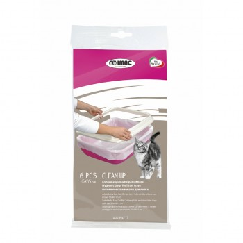 Imac / Имак пакеты д/туалета CLEAN UP (6шт), 45х35 см