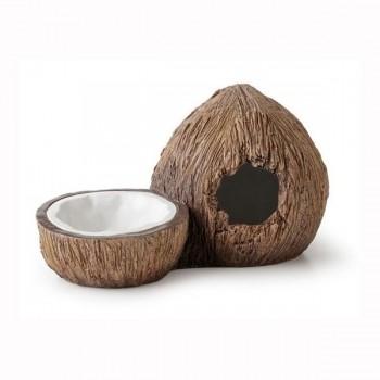 Exo Terra / Экзо Терра Поилка с укрытием кокос Exo Terra Coconut Hide & Water Dish 14х24х13 см. PT3159