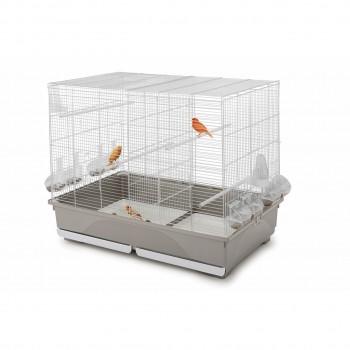 Imac / Имак клетка д/птиц TASHA, оцинк./серый, 80,5х49х65 см