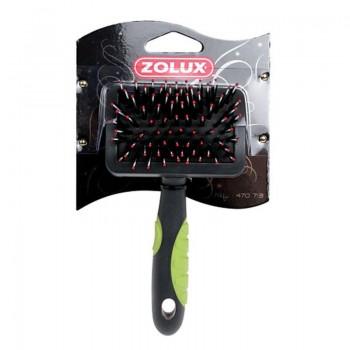 Zolux / Золюкс Щетка-пуходерка пластиковая средняя, L