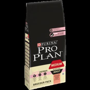 Pro Plan / Про План сухой корм д/собак взр/чувствит пищ лосось, рис, 18 кг
