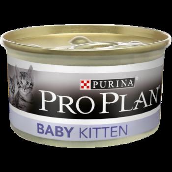"Pro Plan / Про План ""Baby"" консервы для Котят мусс Курица 85 гр"