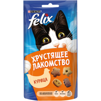 Felix / Феликс Хрустящее лакомство Курица 60 гр