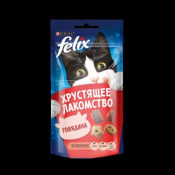 Felix / Феликс Хрустящее лакомство Говядина 60 гр