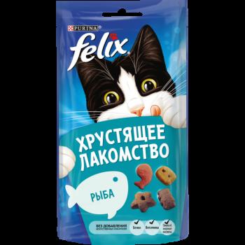 Felix / Феликс Хрустящее лакомство Рыба 60 гр