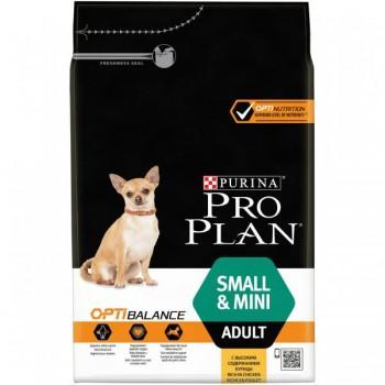 "Pro Plan / Про План ""Adult Small&Mini"" с комплексом OPTIHEALTH сухой для собак мелких и карликовых пород 1 - 10 кг Курица 3 кг"