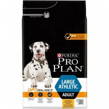 """Pro Plan / Про План """"Adult Large Athletic"""" с комплексом OPTIHEALTH сухой для собак крупных пород с атлетическим телосложением от 25 кг Курица 3 кг"""