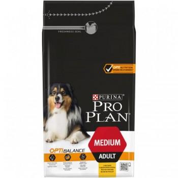 """Pro Plan / Про План """"Adult Medium"""" с комплексом OPTIBALANCE сухой для собак средних пород 10 - 25 кг Курица 1,5 кг"""