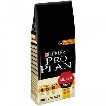 Pro Plan / Про План сухой корм д/собак взрослых средних пород курица,рис, 18 кг