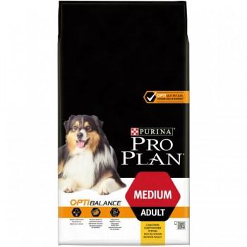 Pro Plan / Про План сухой корм д/взрослых собак средних пород курица, 7 кг