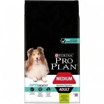 Pro Plan / Про План сухой корм д/собак взрослых/средних пород ЧП ягненок, 7 кг