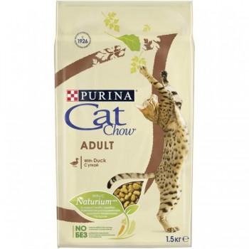 """Cat Chow / Кэт Чоу """"Adult"""" сухой для Кошек Утка 1,5 кг"""