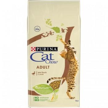 """Cat Chow / Кэт Чоу """"Adult"""" сухой для Кошек Утка 15 кг"""