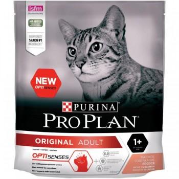 "Pro Plan / Про План ""Adult"" с комплексом OPTIRENAL сухой для кошек Лосось 400 гр"