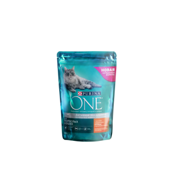 Purina One / Пурина Ван сухой корм д/кошек курица,цельные злаки, 1,5 кг