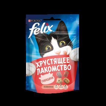 Felix / Феликс Хрустящее лакомство Говядина, 20 гр