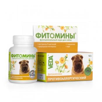 Veda / Веда Фитомины От аллергий (собака), 100 таб.