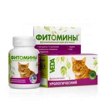 Veda / Веда Фитомины Проф-ка Мочекам.болезни кошек (урология), 100 таб.