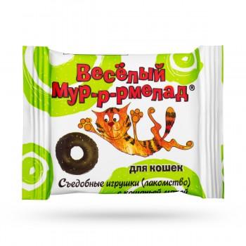 Veda / Веда Веселый мур-р-рмелад с кошачьей мятой д/кошек, 6 гр