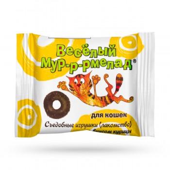 Veda / Веда Веселый мур-р-рмелад со вкусом курицы д/кошек, 6 гр