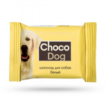 Veda / Веда CHOCO DOG Шоколад д/собак белый, 15 мг
