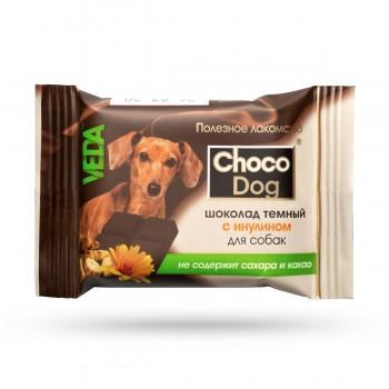 Veda / Веда Choco Dog Шоколад темный с инулином для собак, 15 гр