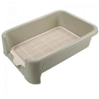 Triol / Триол Туалет P652 для собак (сетка в комплекте), оливковый, 520*400*150мм
