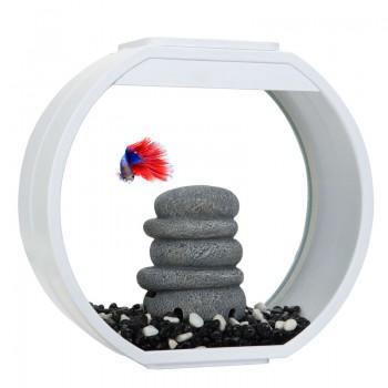 "АА-Aquarium Аквариум ""Deco O Mini UPG"", 10л, белый, 335*136*310мм"