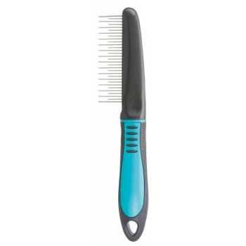 Trixie / Трикси Расчёска с переменным зубом, 22 см, пластиковая ручка