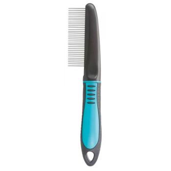 Trixie / Трикси Расчёска со средним крутящимся зубом, 22 см, пластиковая ручка