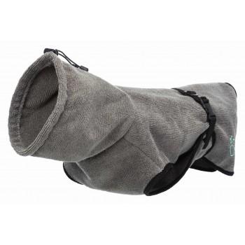 Trixie / Трикси Халат махровый для собак, М: 50 см, серый