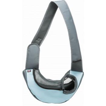 Trixie / Трикси Переноска - слинг, 50 х 25 х 18 см, светло-серый / светло-синий