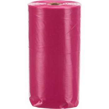 Trixie / Трикси Пакеты для уборки за собаками с ароматом розы, 4 рулона по 20 шт., розовые