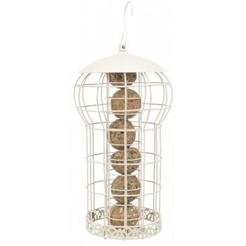 Trixie / Трикси Кормушка для птиц, ф 17 х 30 см, кремовая