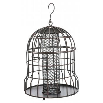 Trixie / Трикси Кормушка для птиц, 820 мл/ ф 20 см см, черная/ бронзовая