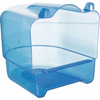 Trixie / Трикси Купалка 15х16х17 см, прозрачный пластик, голубой