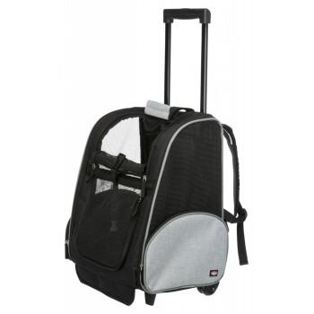 Trixie / Трикси Транспортная сумка, 32 х 45 х 25 см, чёрный/серый