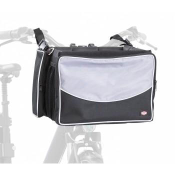 Trixie / Трикси Сумка-переноска на велосипед, 41 х 26 х 26 см, серый/черный